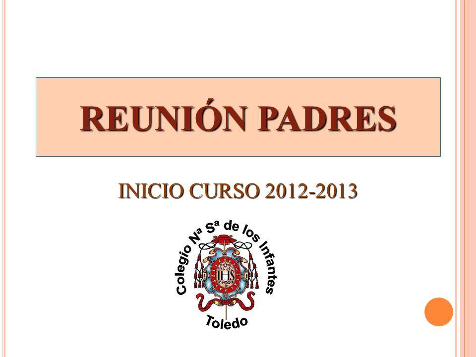 REUNIÓN PADRES INICIO CURSO 2012-2013
