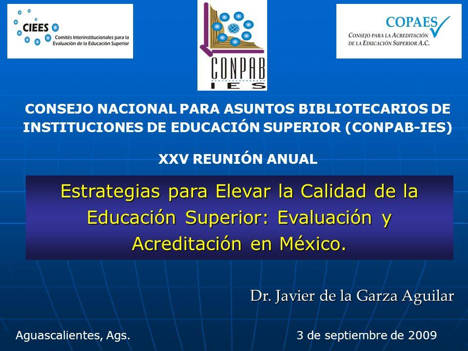 CONSEJO NACIONAL PARA ASUNTOS BIBLIOTECARIOS DE INSTITUCIONES DE EDUCACIÓN SUPERIOR (CONPAB-IES)