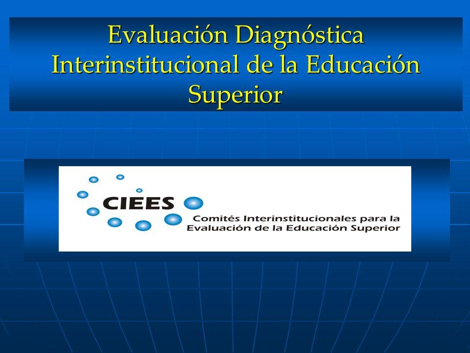 Evaluación Diagnóstica Interinstitucional de la Educación Superior