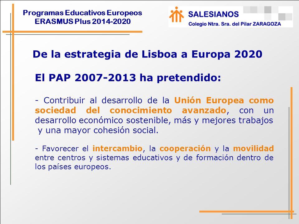 De la estrategia de Lisboa a Europa 2020