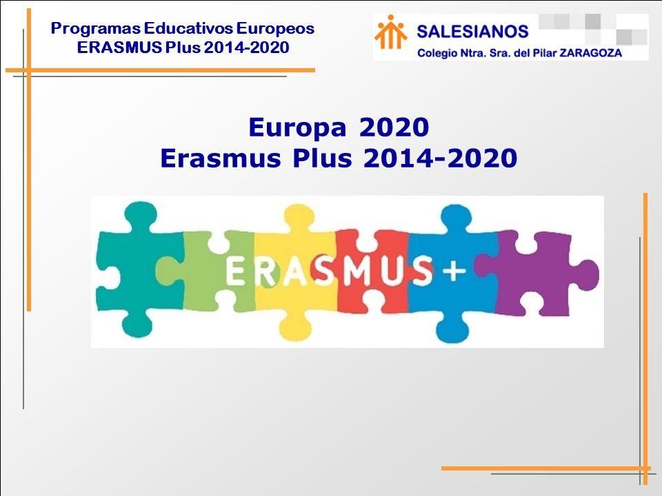 Europa 2020 Erasmus Plus 2014-2020