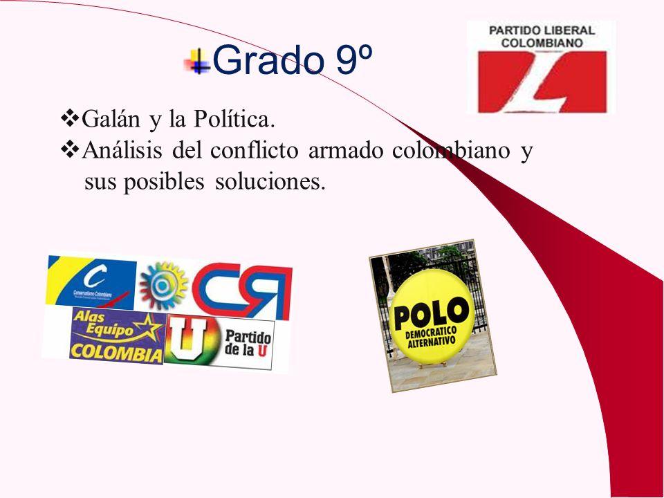 Grado 9º Galán y la Política.