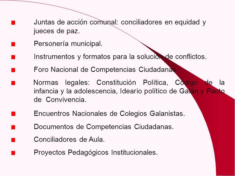 Encuentros Nacionales de Colegios Galanistas.