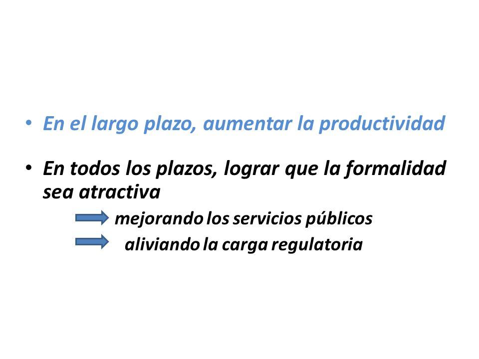 mejorando los servicios públicos aliviando la carga regulatoria