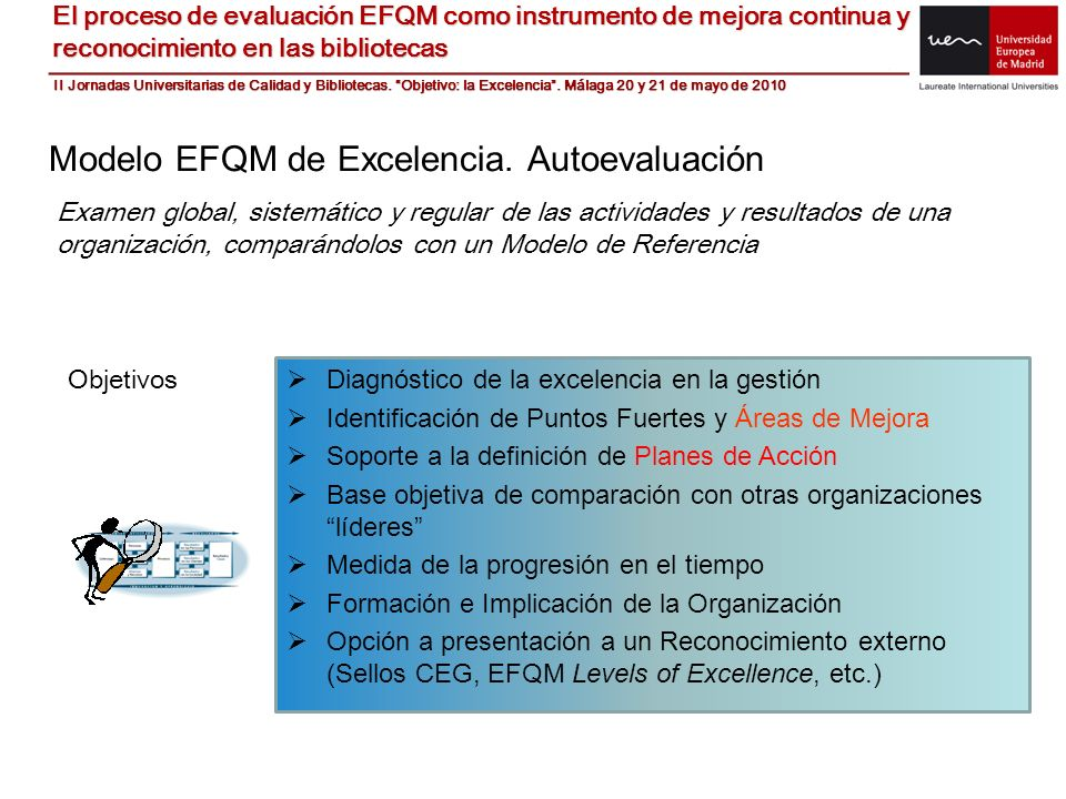 Modelo EFQM de Excelencia. Autoevaluación