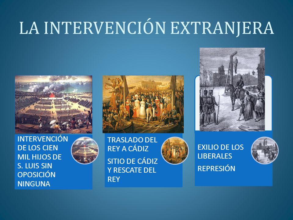 LA INTERVENCIÓN EXTRANJERA