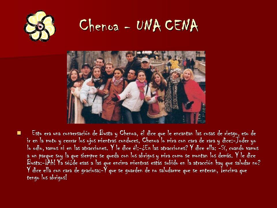 Chenoa - UNA CENA