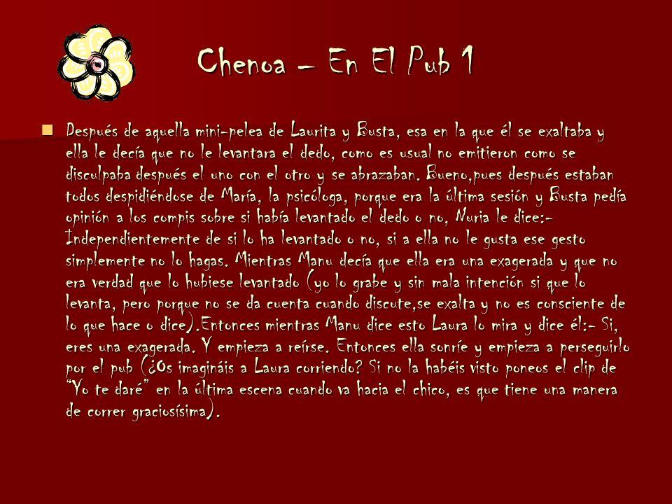 Chenoa – En El Pub 1