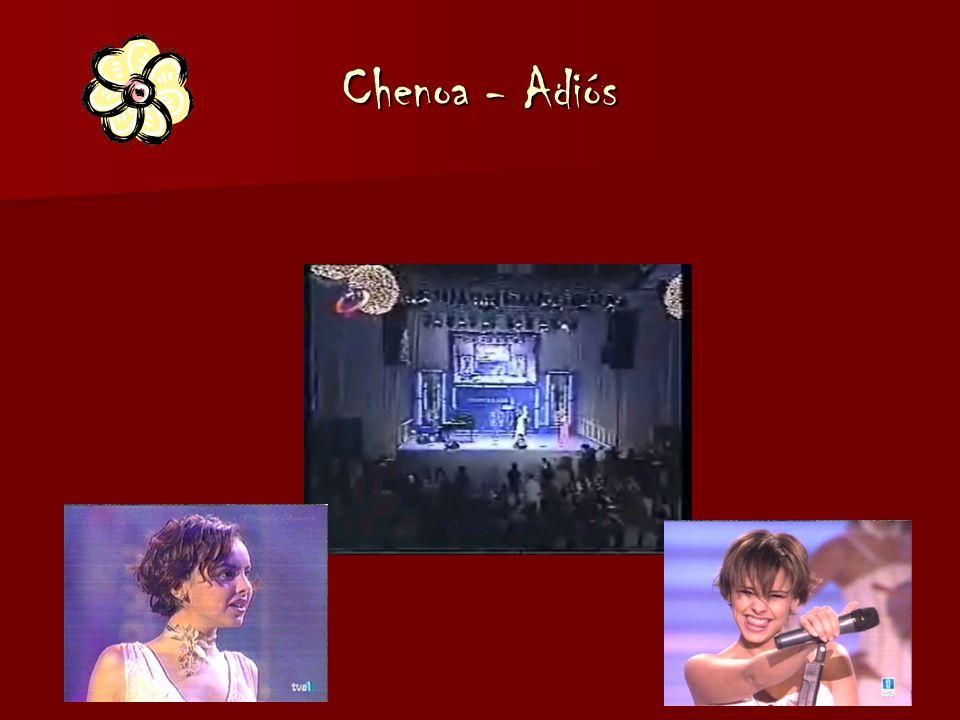 Chenoa - Adiós