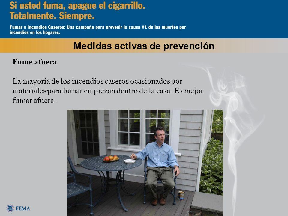Medidas activas de prevención