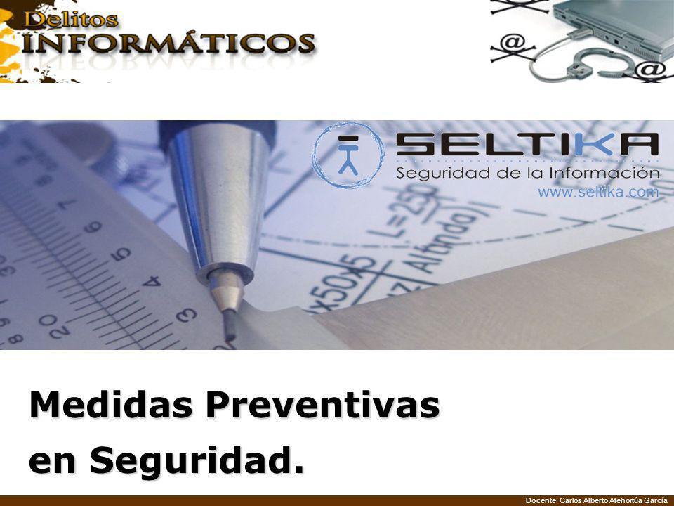 Medidas Preventivas en Seguridad.
