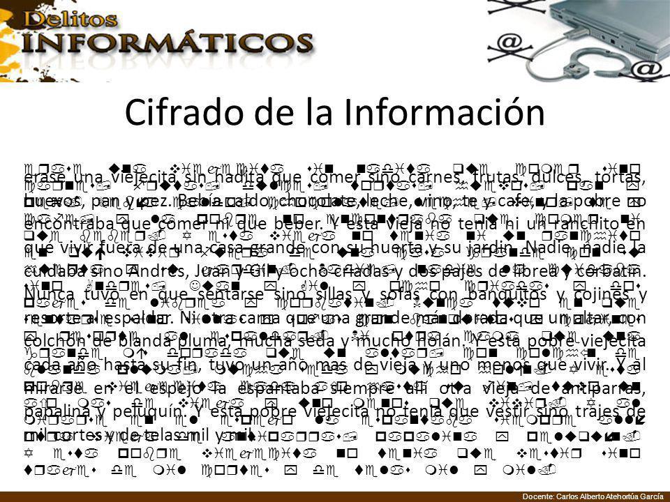Cifrado de la Información