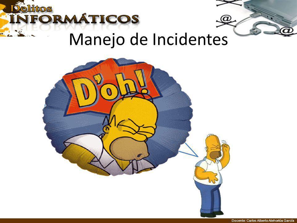 Manejo de Incidentes