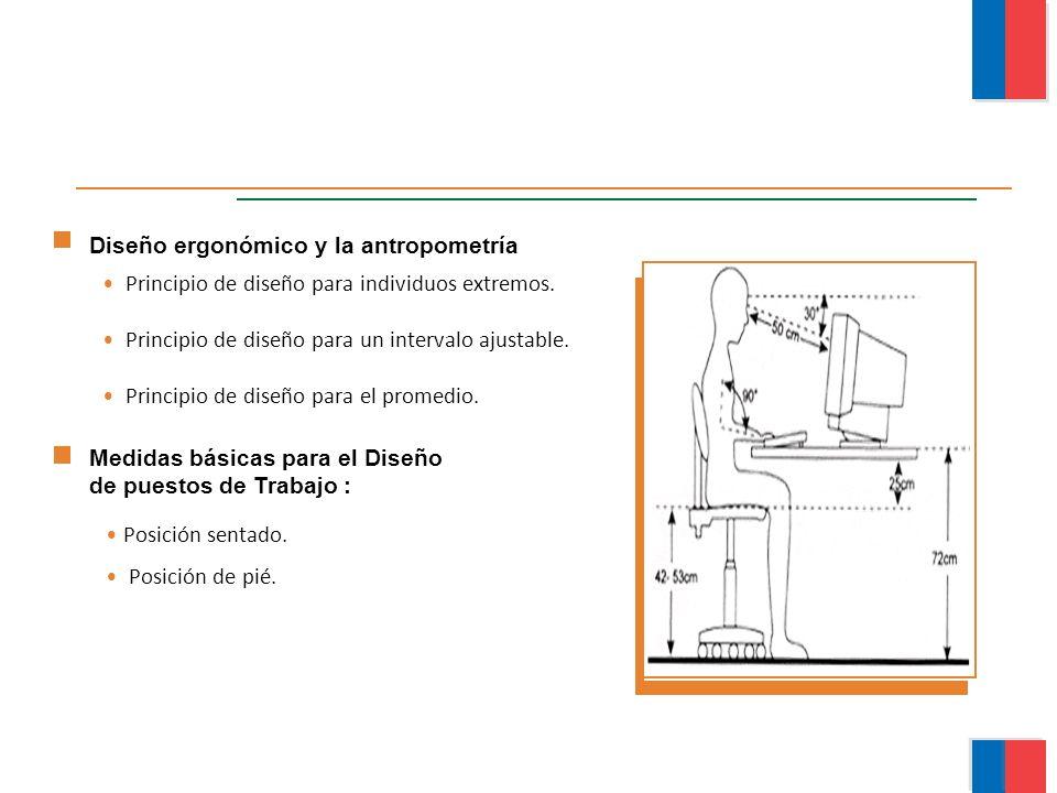 Diseño ergonómico y la antropometría