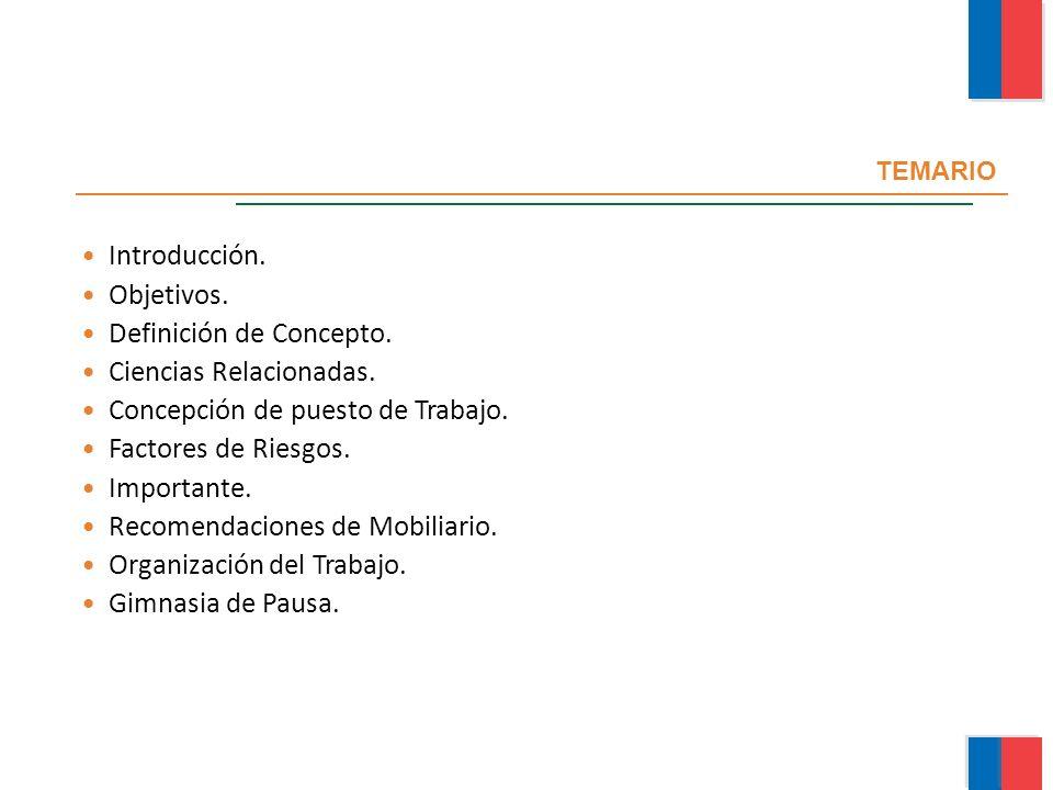 Definición de Concepto. Ciencias Relacionadas.
