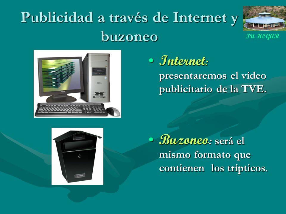 Publicidad a través de Internet y buzoneo