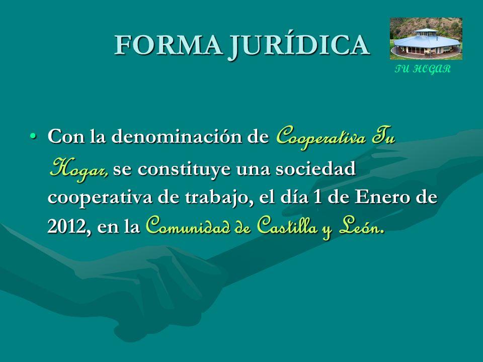 FORMA JURÍDICA TU HOGAR.