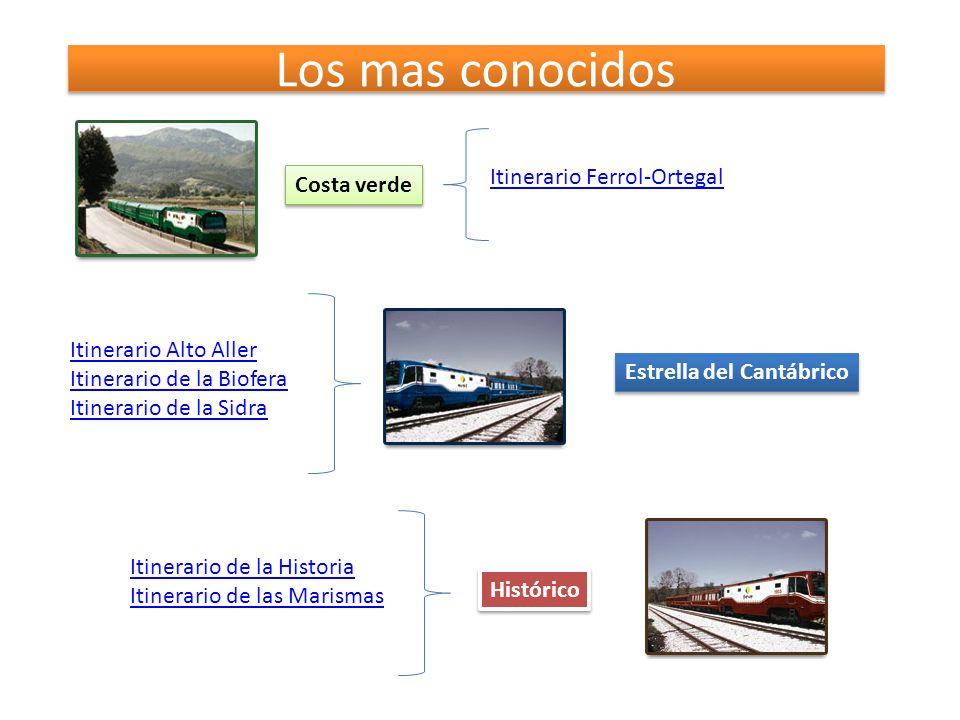 Los mas conocidos Itinerario Ferrol-Ortegal Costa verde