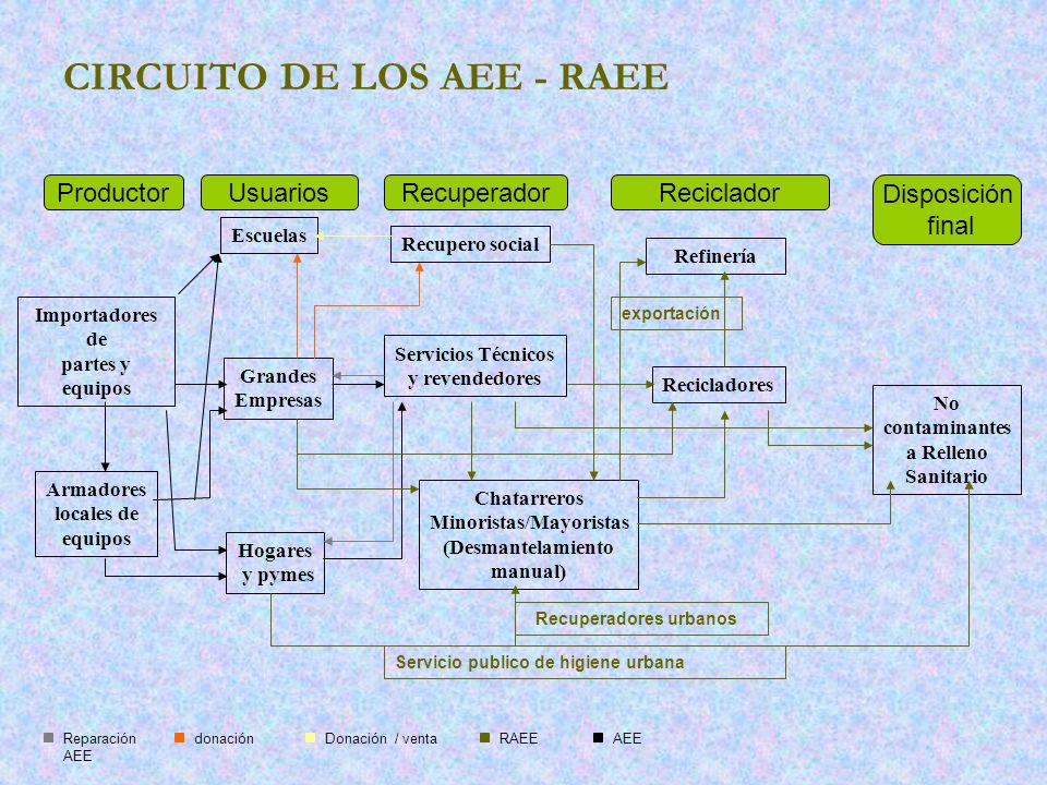 CIRCUITO DE LOS AEE - RAEE