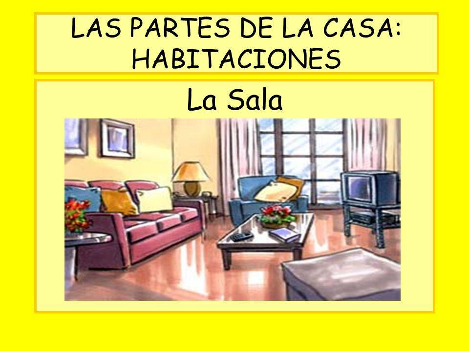 LAS PARTES DE LA CASA: HABITACIONES