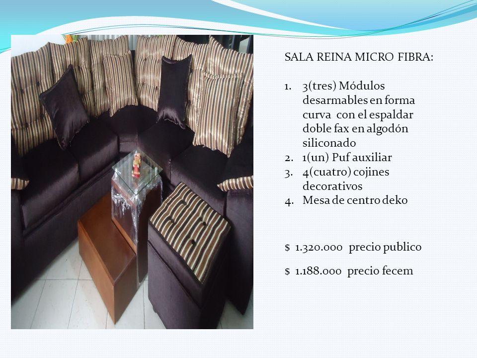 SALA REINA MICRO FIBRA: