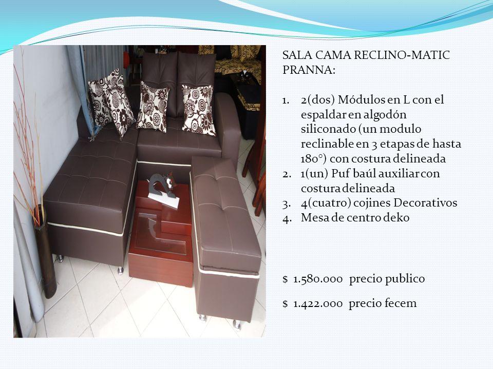 SALA CAMA RECLINO-MATIC PRANNA: