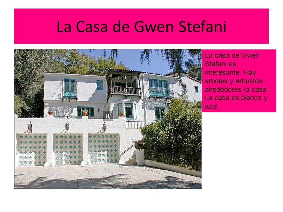 La Casa de Gwen Stefani La casa de Gwen Stafani es interesante.