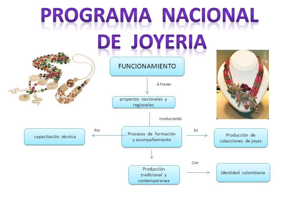 PROGRAMA NACIONAL DE JOYERIA