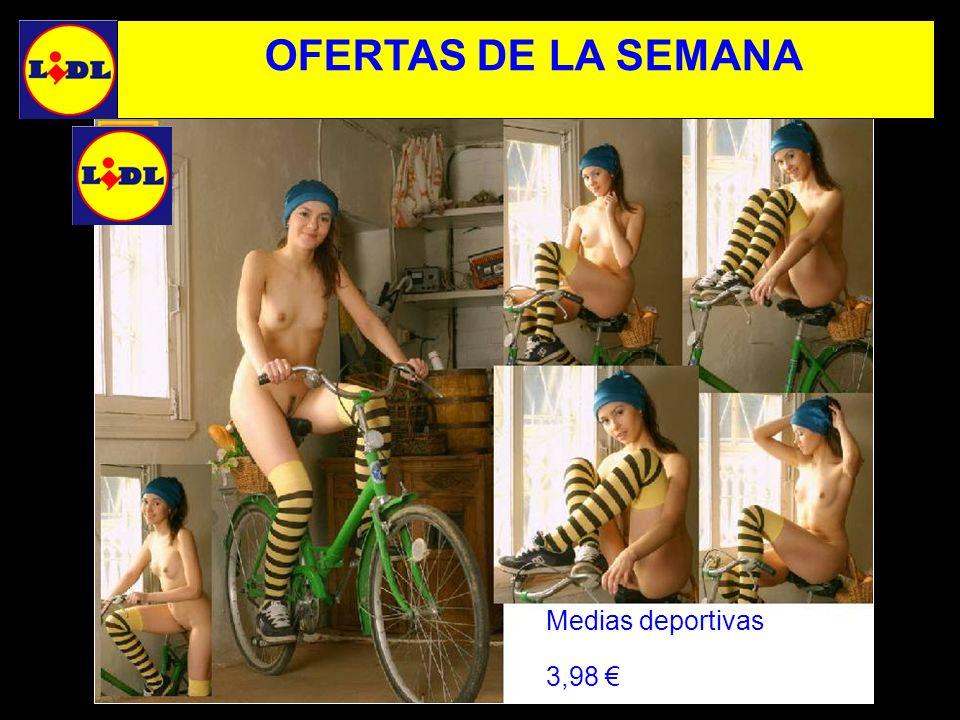 OFERTAS DE LA SEMANA Medias deportivas 3,98 €