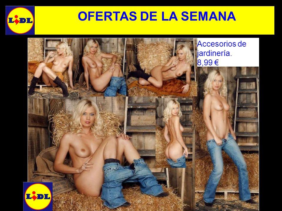 OFERTAS DE LA SEMANA Accesorios de jardinería. 8,99 €