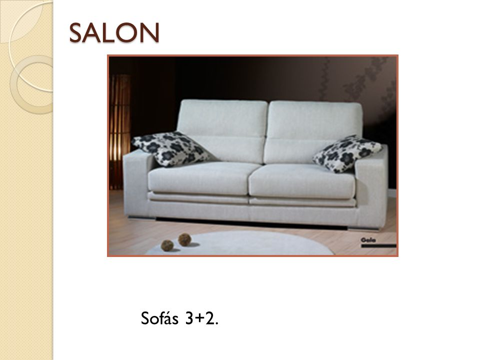 SALON Sofás 3+2.