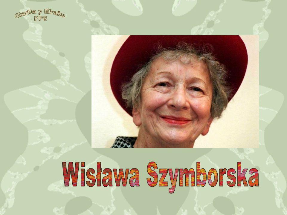 Clarita y Efraim PPS Wisława Szymborska