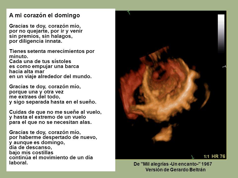 De Mil alegrías -Un encanto- 1967 Versión de Gerardo Beltrán