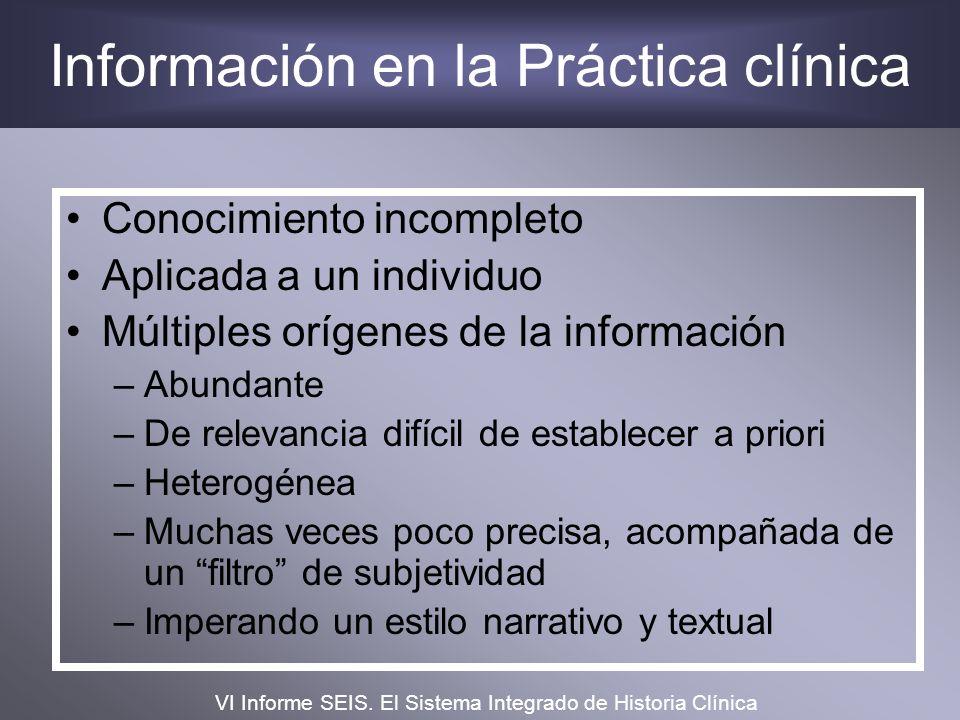 Información en la Práctica clínica