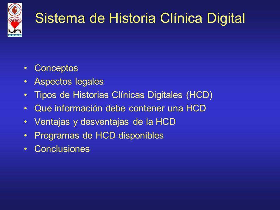 Sistema de Historia Clínica Digital