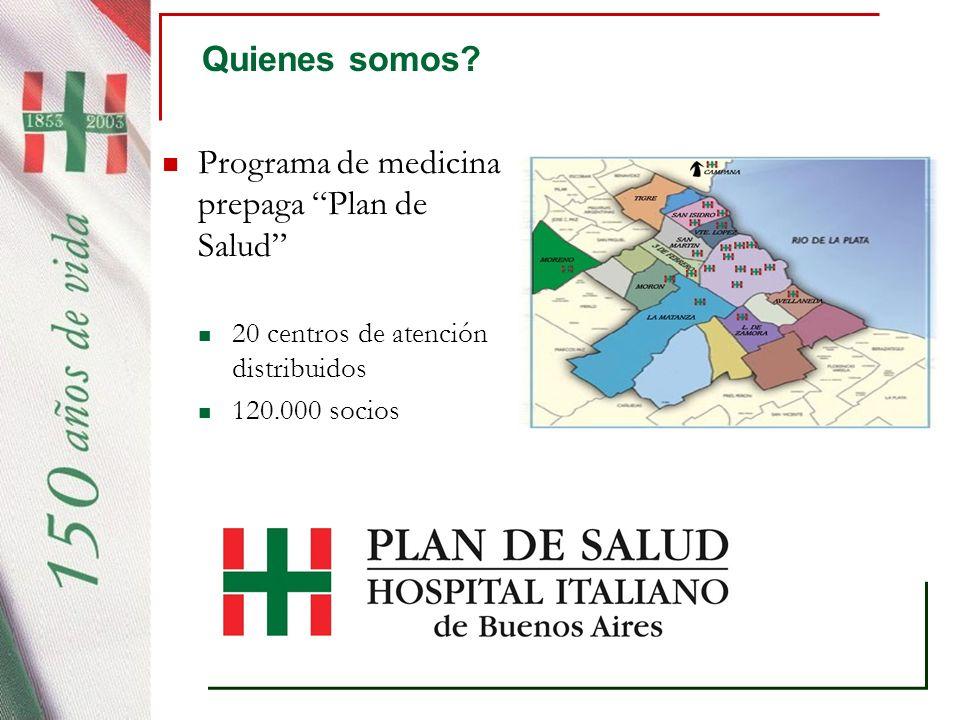 Programa de medicina prepaga Plan de Salud