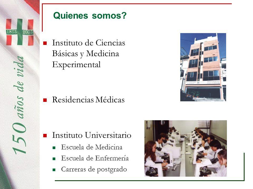 Instituto de Ciencias Básicas y Medicina Experimental