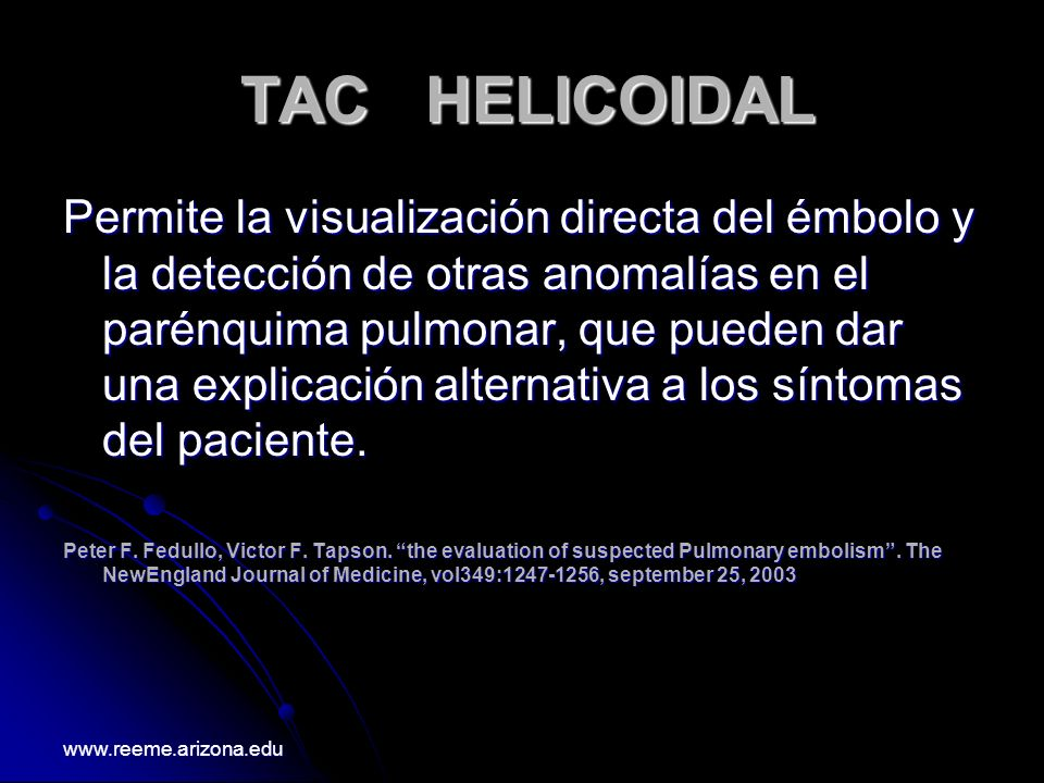 TAC HELICOIDAL