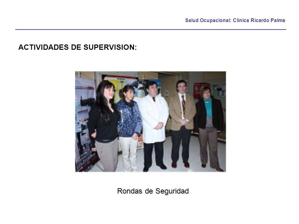 ACTIVIDADES DE SUPERVISION: