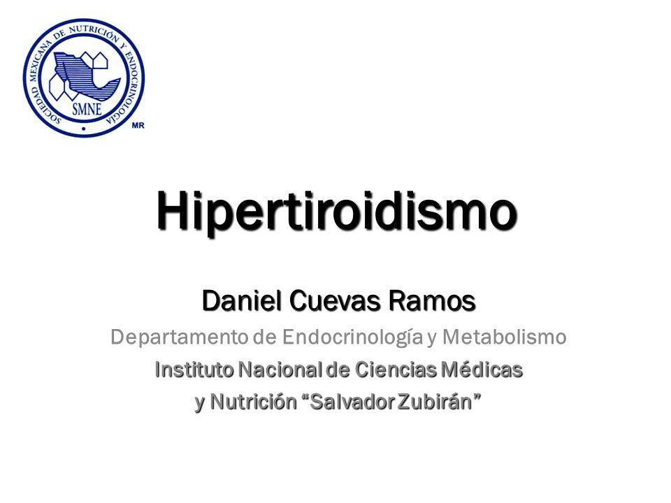 Hipertiroidismo Daniel Cuevas Ramos