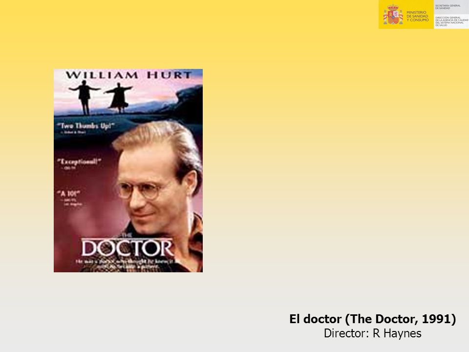El doctor (The Doctor, 1991) Director: R Haynes