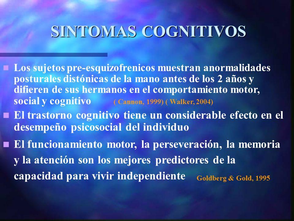 SINTOMAS COGNITIVOS