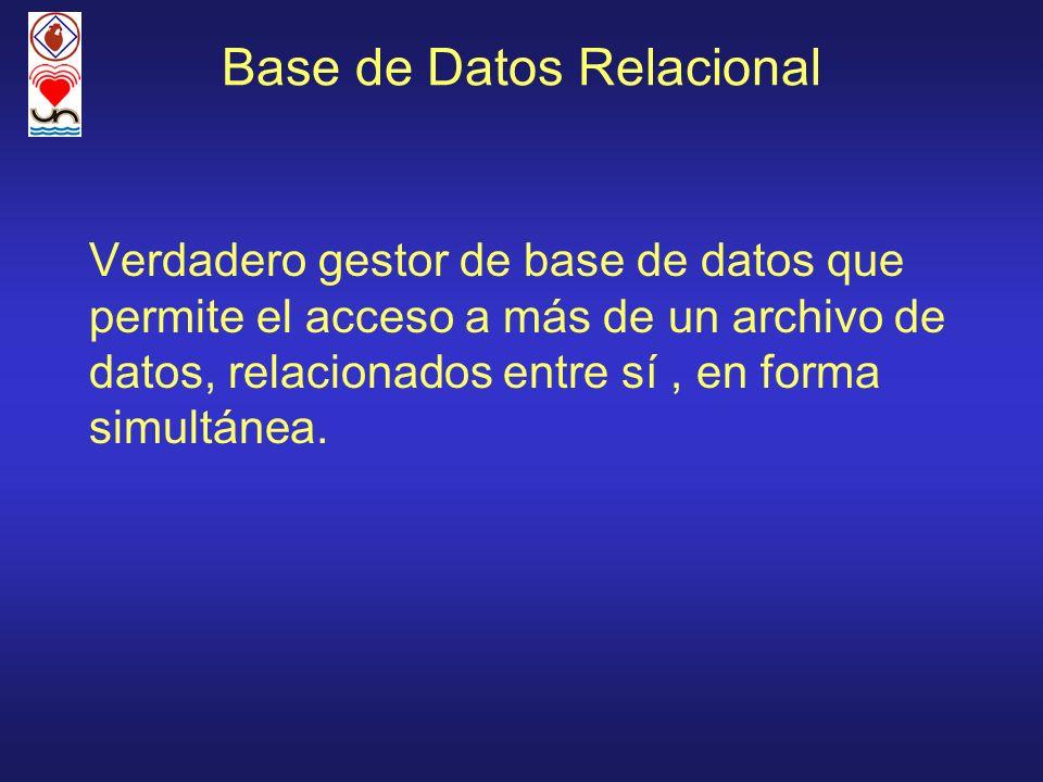 Base de Datos Relacional