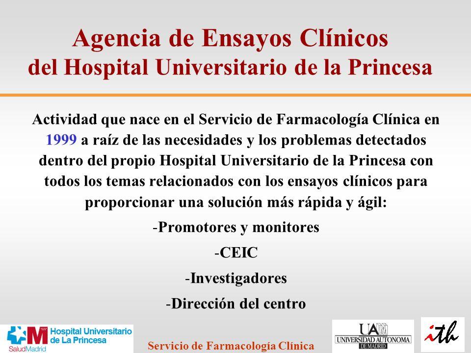 Agencia de Ensayos Clínicos del Hospital Universitario de la Princesa