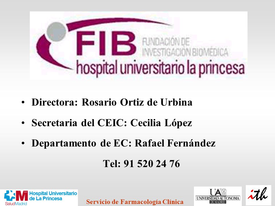 Directora: Rosario Ortiz de Urbina