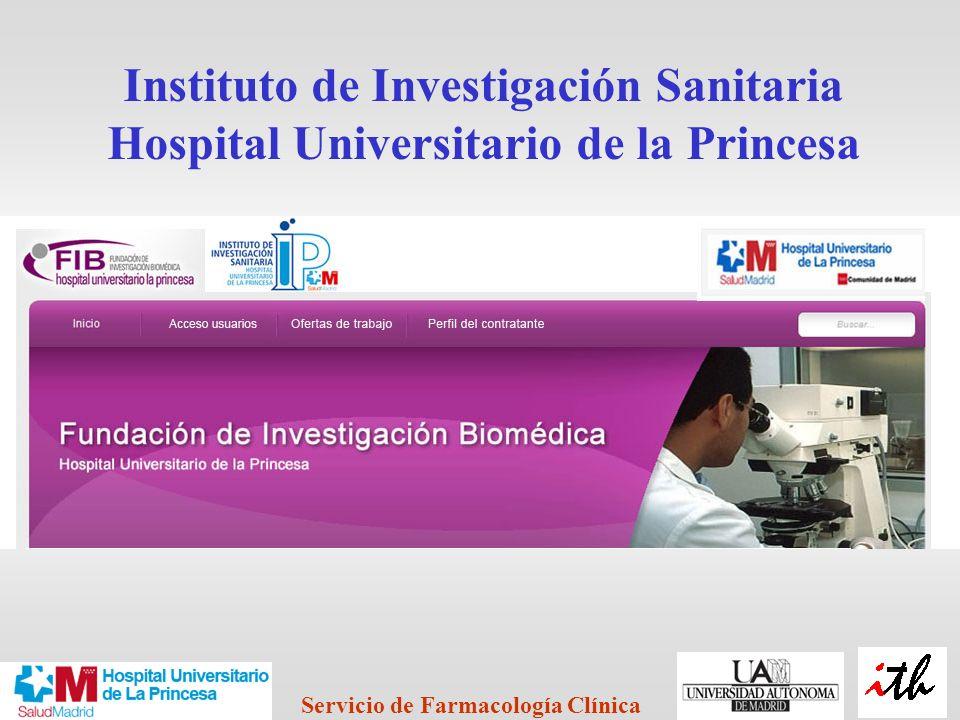 Instituto de Investigación Sanitaria Hospital Universitario de la Princesa