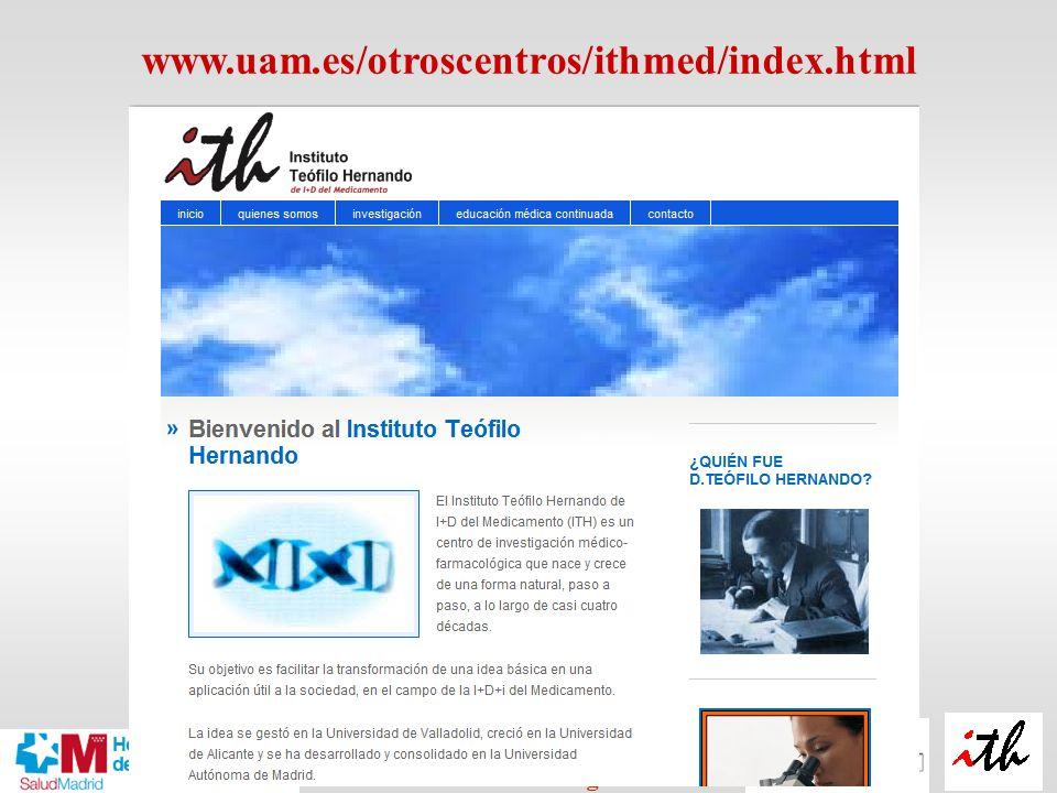 www.uam.es/otroscentros/ithmed/index.html