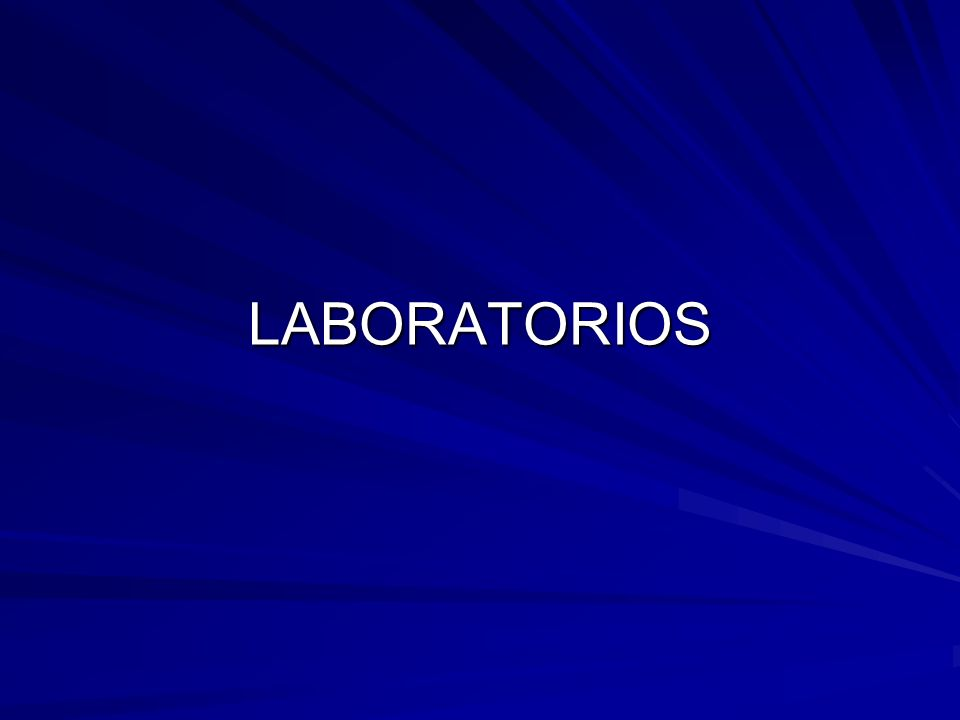 LABORATORIOS
