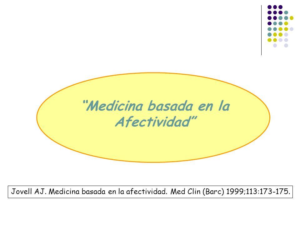 Medicina basada en la Afectividad
