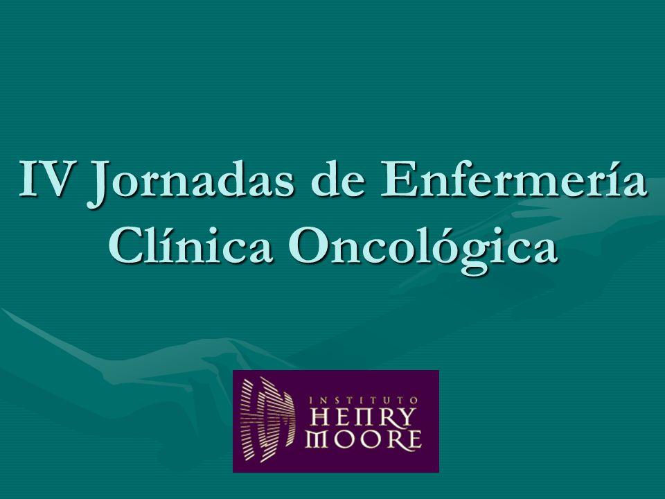IV Jornadas de Enfermería Clínica Oncológica